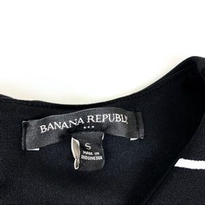 Banana Republic Tops - Banana Republic size Small Black & White Top